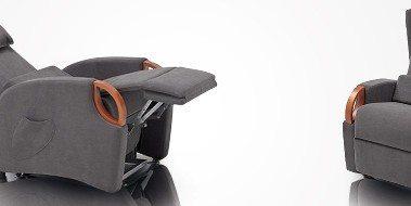 le poltrone relax comode | materassi roma e complementi d'arredo - Poltrona Relax Motorizzata Balance