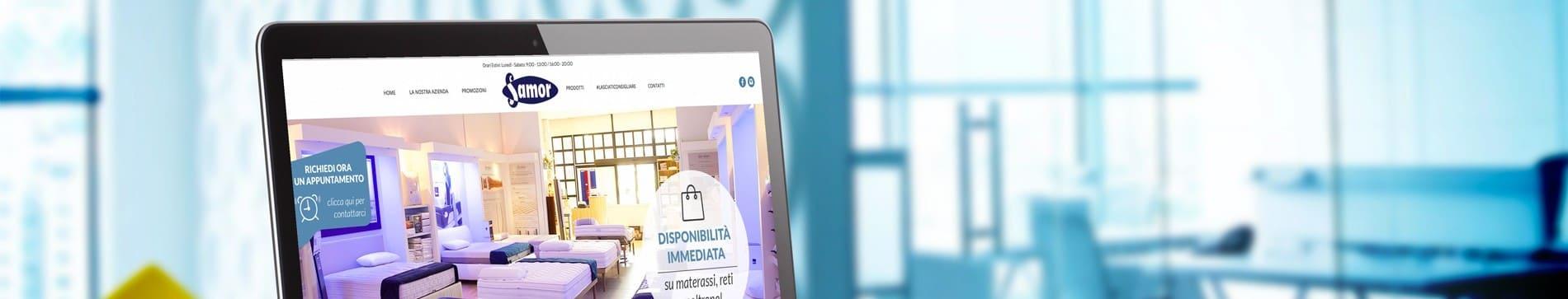 Materassi roma il sito di samor cambia look slide