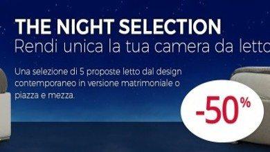 THE NIGHT SELECTION:<br>SOLO IL MEGLIO AL 50% DI SCONTO