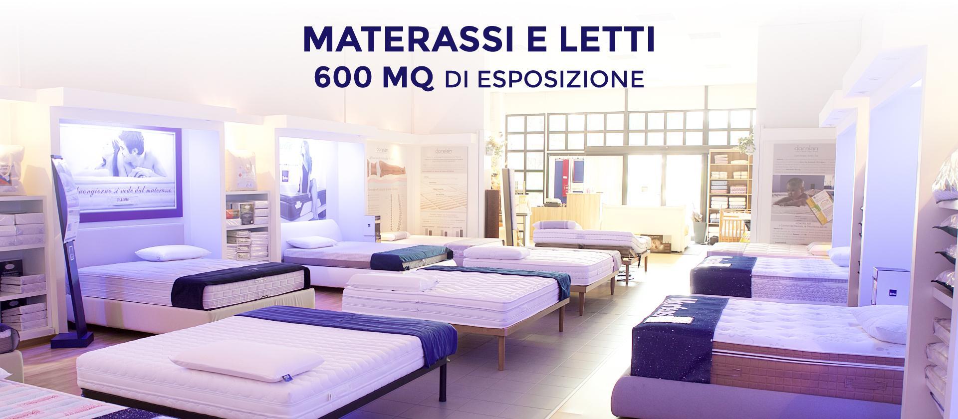 slider sito materassi roma 600mq